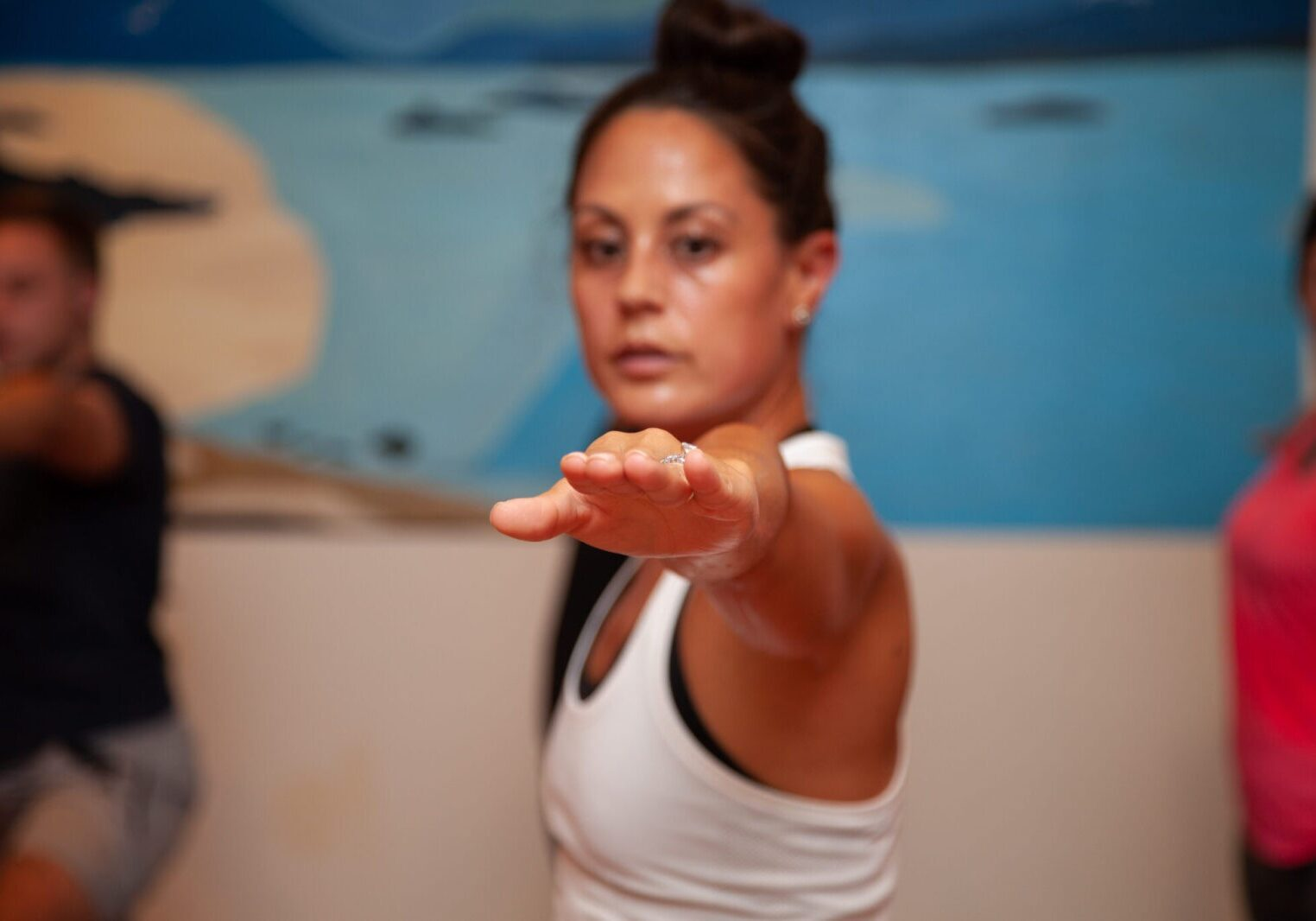 © Sol Hot Yoga Studio_Warrior2 Alignment