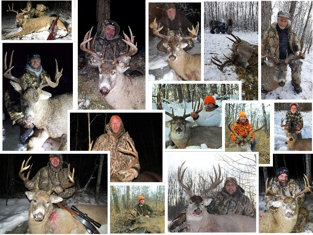 Saskatchewan Big Buck Adventures trophy whitetail deer hunts.