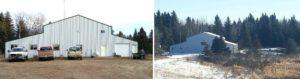 The Lodge and hunting accommodations at Saskatchewan Big Buck Adventures.