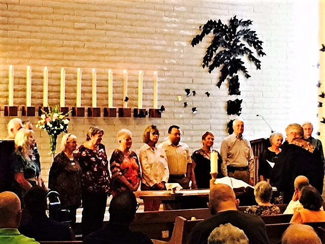 Reaffirmation and Dedication of Jump Start Bible Study Members