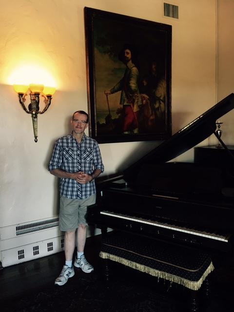 Steinway player grand piano