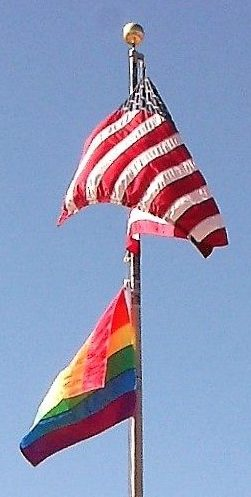 Raising the Rainbow Flag Ceremony Photos