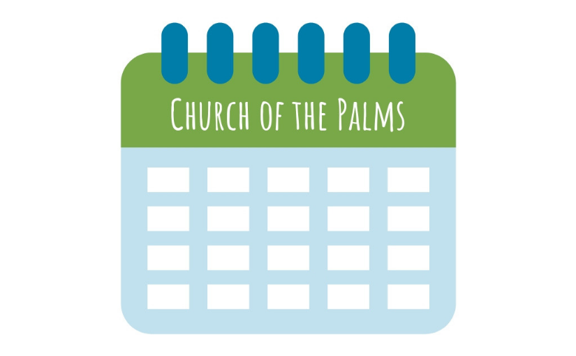 Church of the Palms UCC calendar page