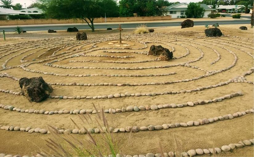 Church of the Palms UCC Sun City community labyrinths