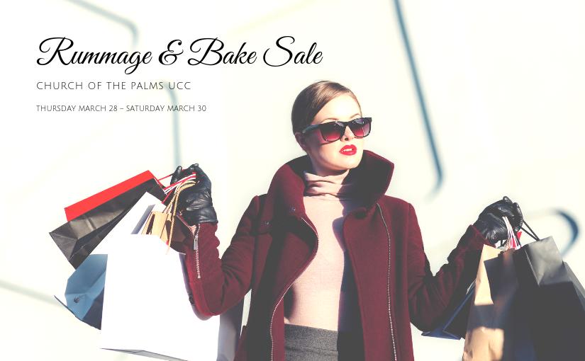Spring Rummage & Bake Sale