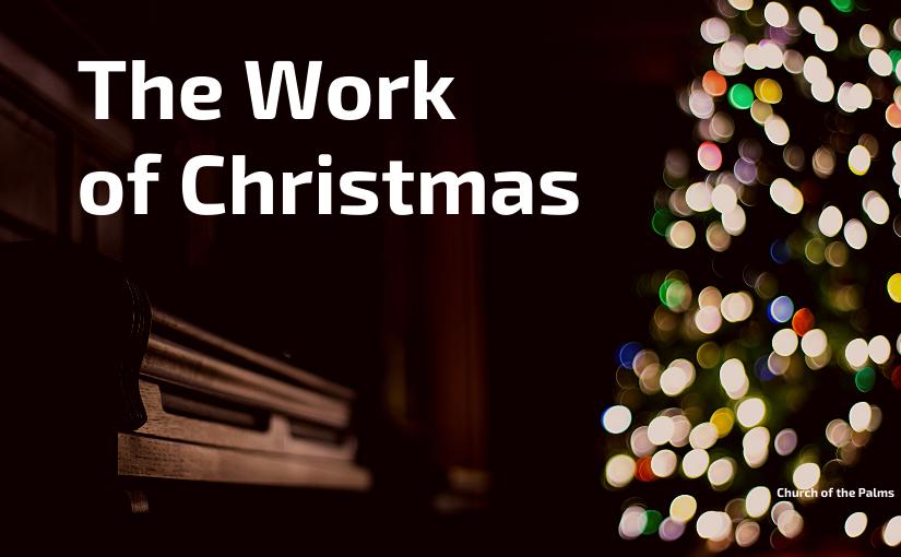 The Work of Christmas