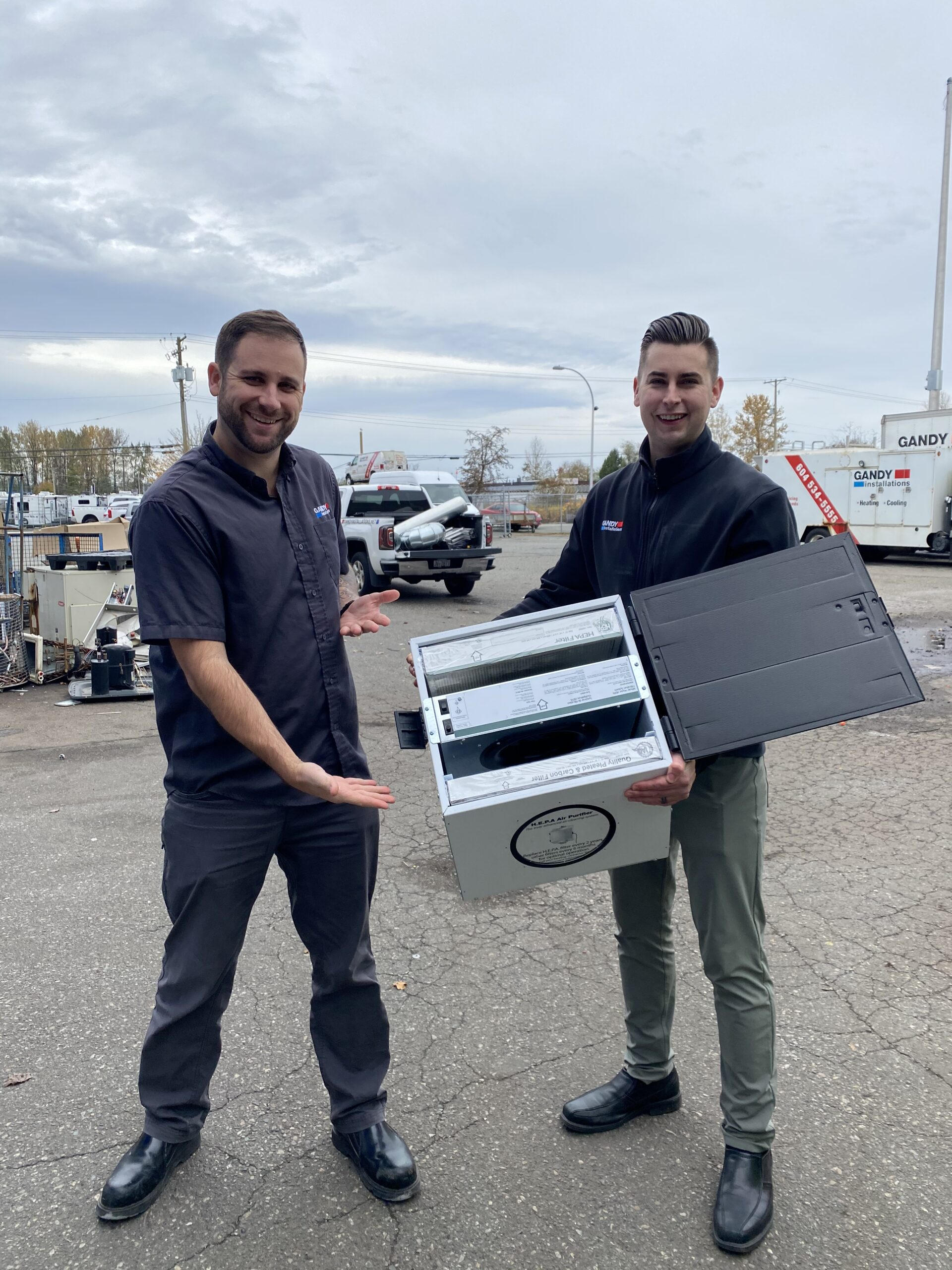 Gandy HVAC Vancouver with some miscellaneous equipment