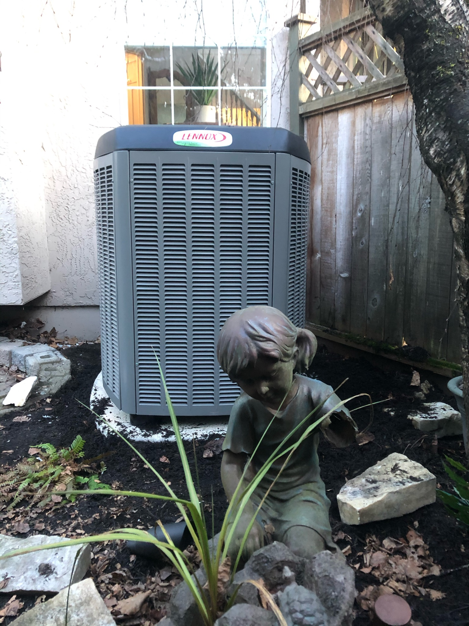 Air conditioning and HVAC system with air purifiers