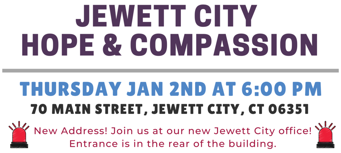 January 2020 - Jewett City Hope and Compassion Event Details