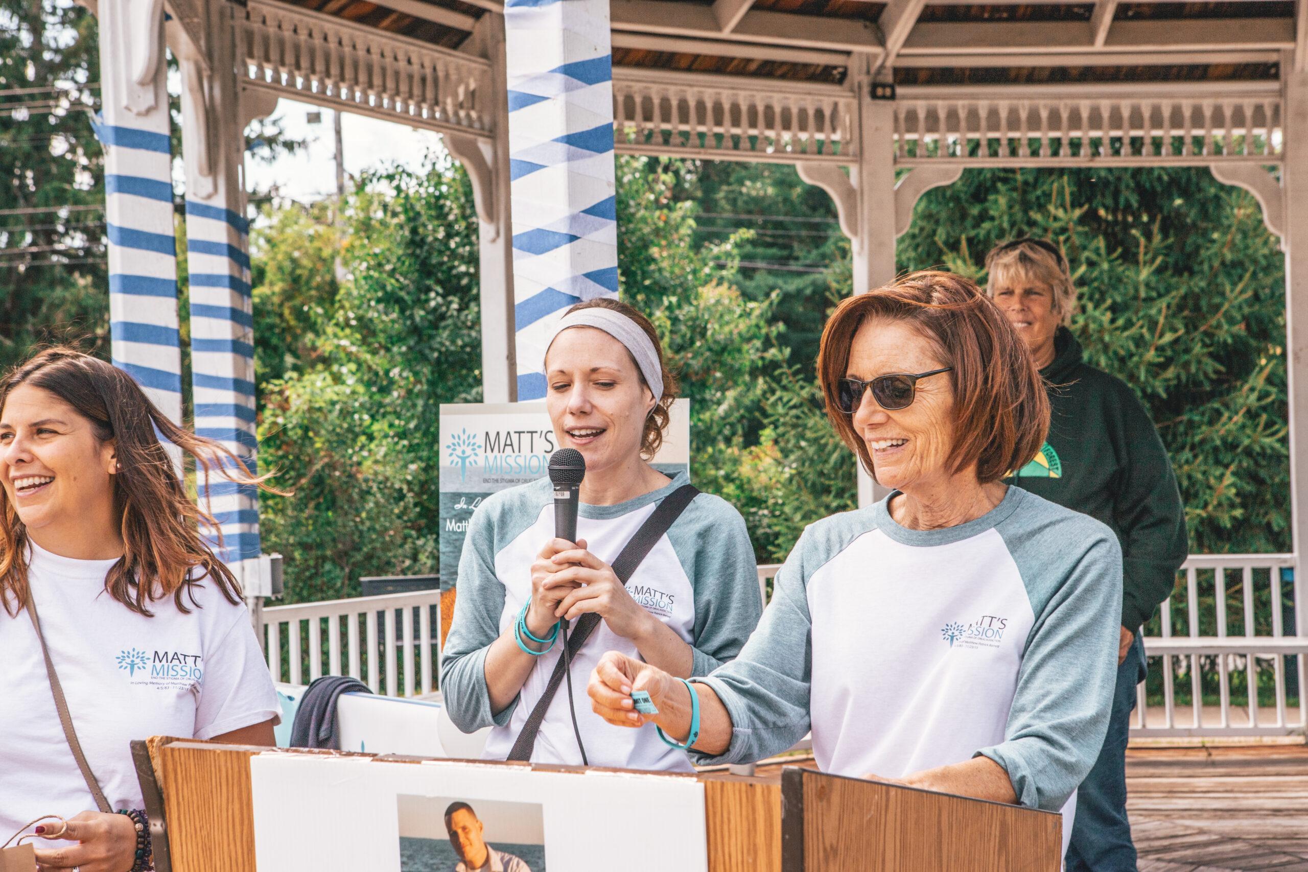 Kathleen Dufficy and Kelly Barrett