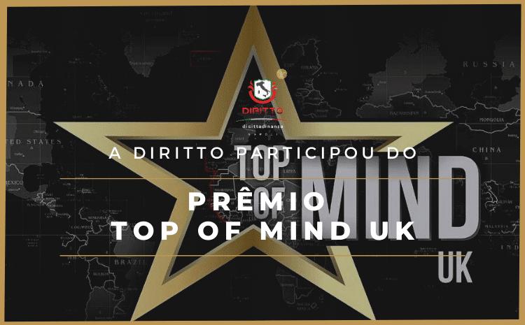 Abertas as votações para o Prêmio Top of Mind UK. Apoiamos esta iniciativa.
