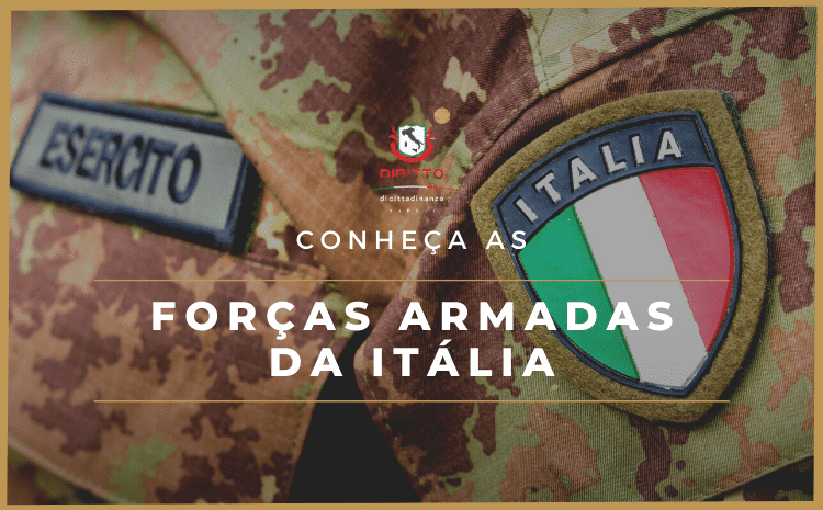 As Forças Armadas da Itália e o serviço militar no país