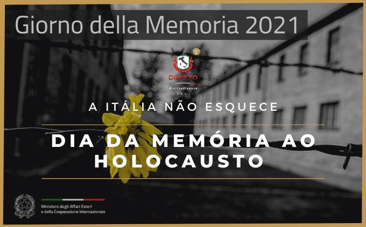 Itália lembra do Holocausto no Dia da Memória
