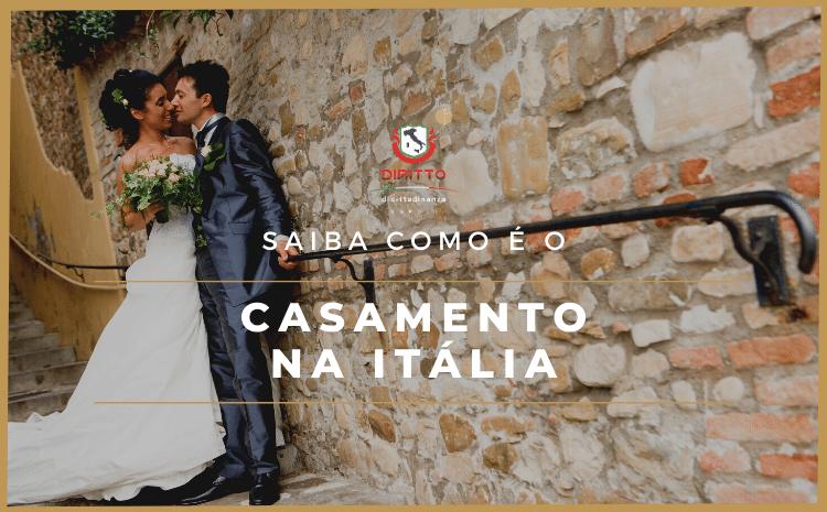 Saiba como são as cerimônias de casamento na Itália
