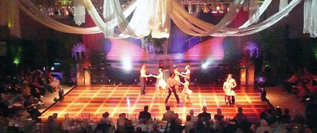 Dancing competition flooring