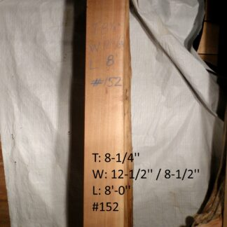 Western Red Cedar 8.25 in X 10 in X 8'