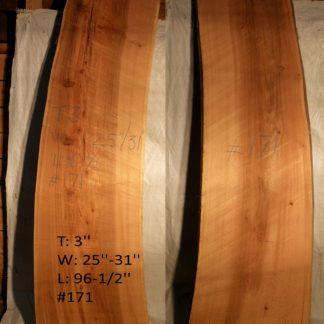 Western Red Cedar 3 in X 28 in X 8'