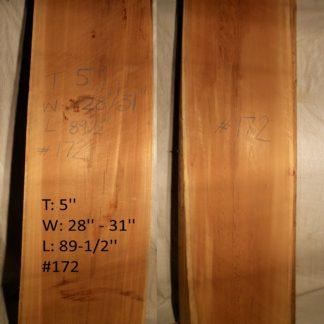 Western Red Cedar 5 in X 30 in X 7'