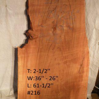 Western Red Cedar 2.5 in X 31 in X 5'