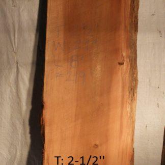 Western Red Cedar 2.5 in X 29 in X 8'