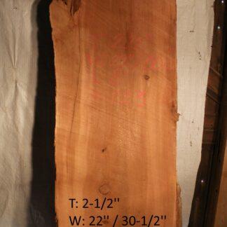 Western Red Cedar 2.5 in X 26 in X 8'