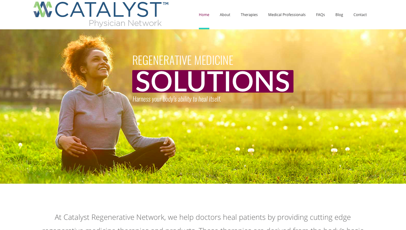 catalyst regenerative network, feed the agency, healthcare marketing