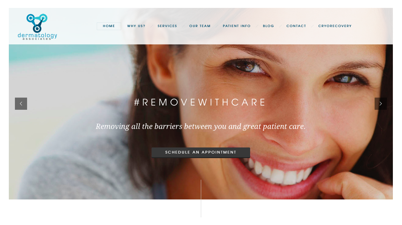 dermatology associates, feed the agency, physician marketing, healthcare marketing