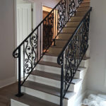 French Scrolled Handrails