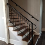Cathedral Styled Staircase Handrails