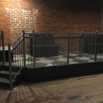 Stage Fence Rail