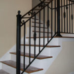 Stairway Handrail With Accents