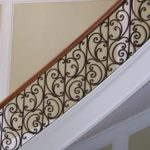 Stairway With Scroll Details