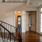 Curved Ornate Staircase Railing