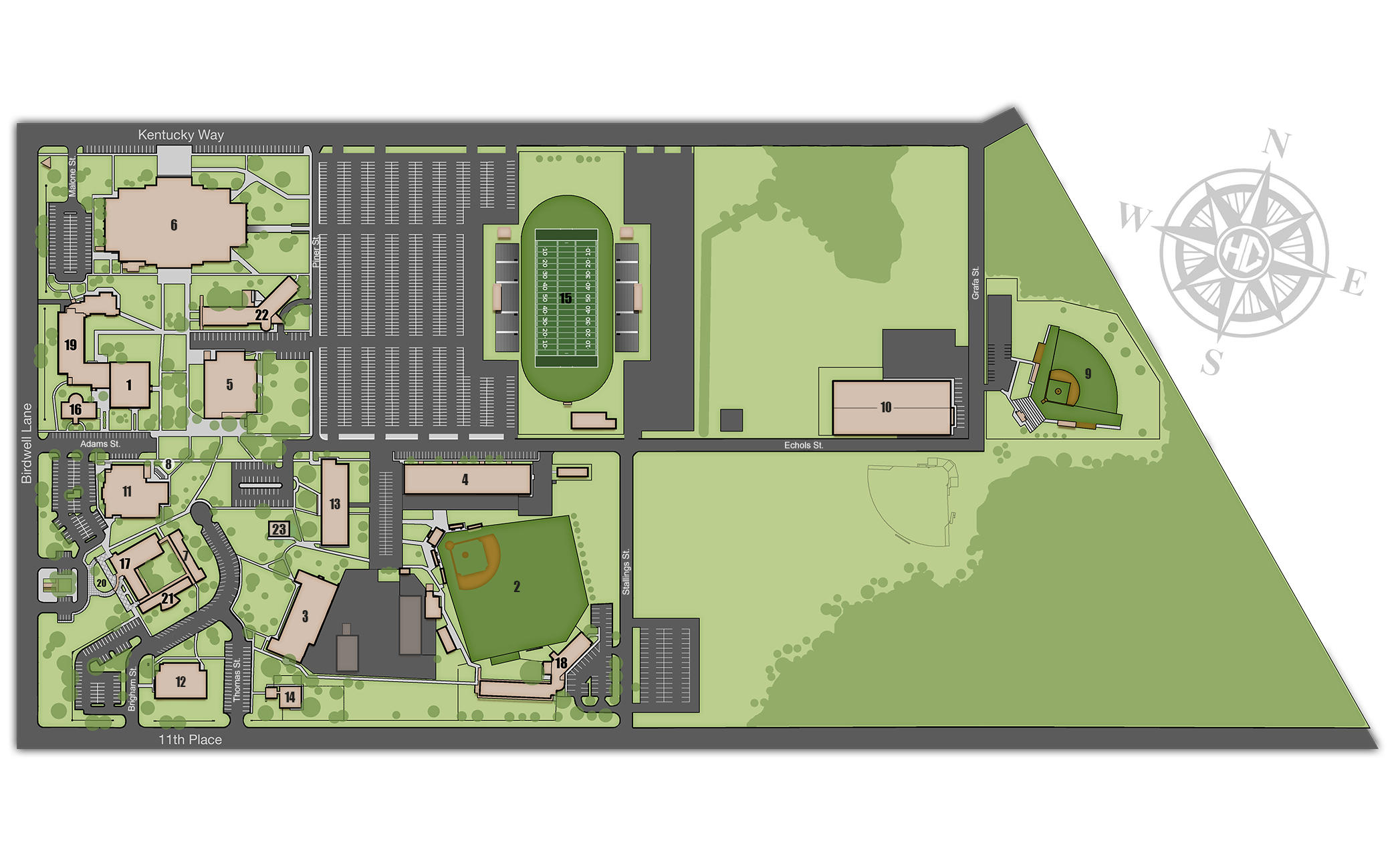 Campus Maps – Howard College
