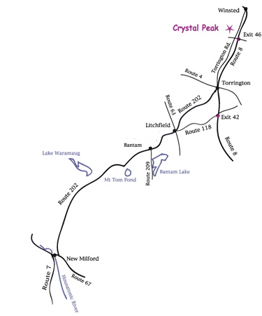 Crystal Peak Map
