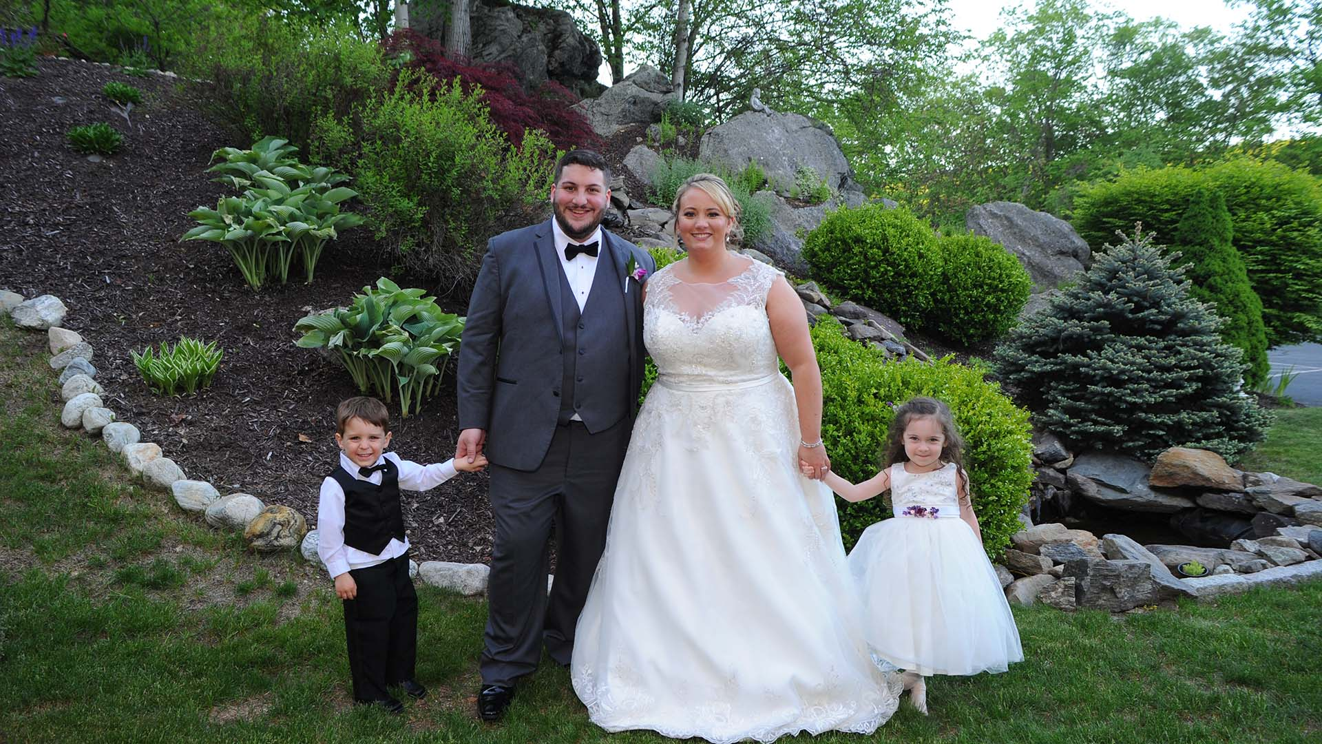 Portrait of Landscape at Wedding