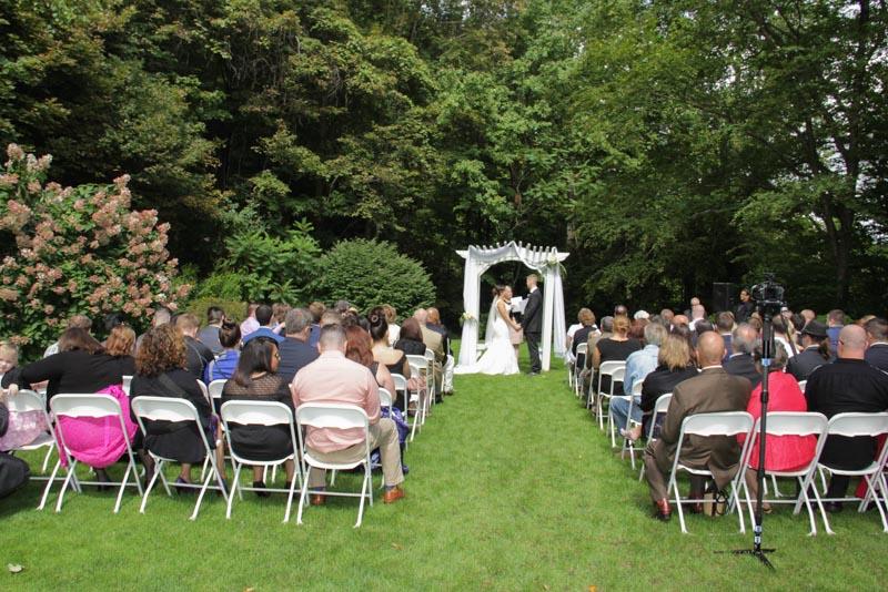 Crystal Peak Wedding Outside
