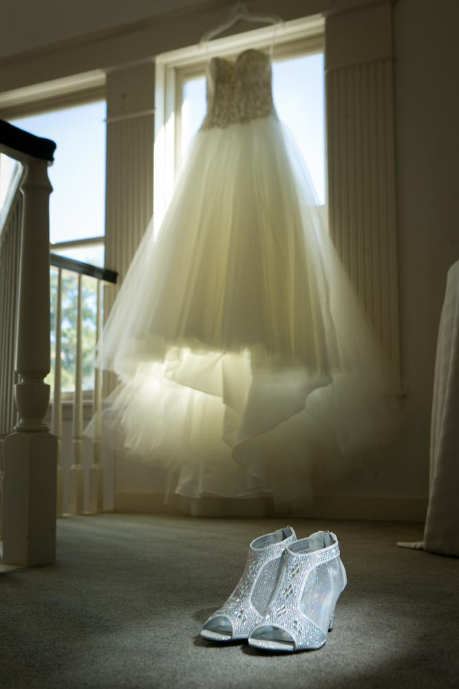 Matthew J Wagner Fine Photography Bridal Dress and Shoes