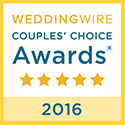2016 Wedding Wire Award