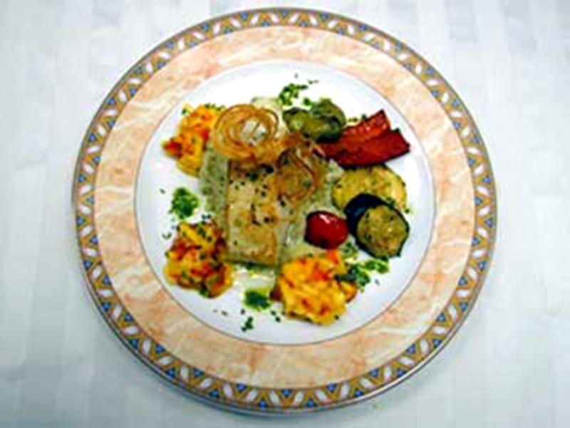 Arctic Seabass Dish