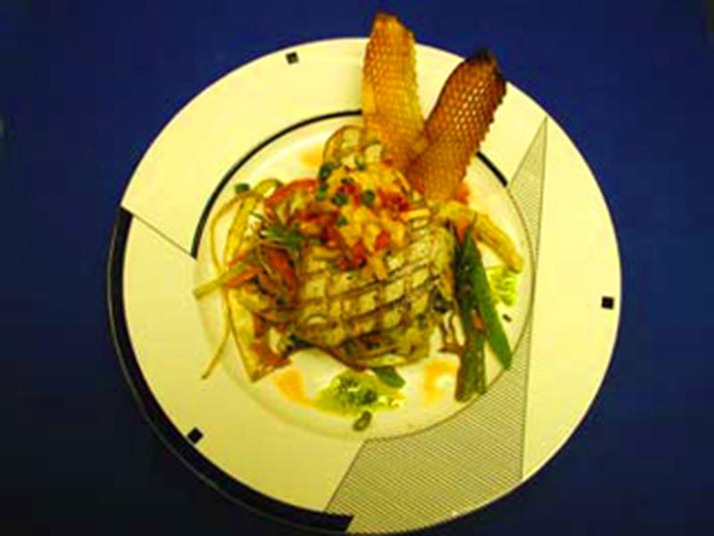 Grilled Tuna Dish
