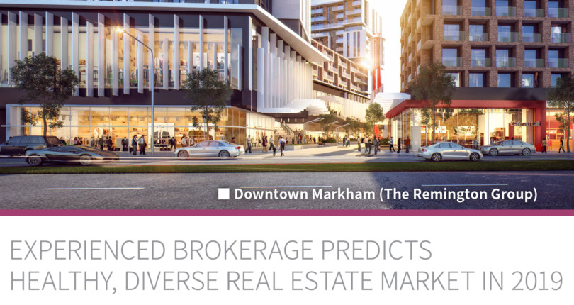 """Experienced Brokerage Predicts Healthy, Diverse Real estate Market In 2019"""