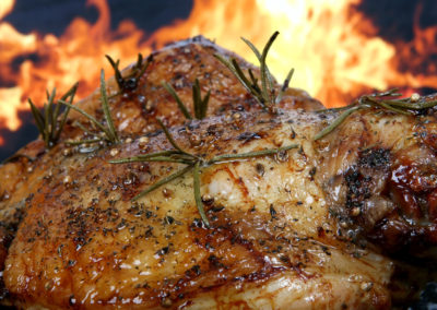 Barbecued Poultry