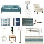 Refined coastal living room