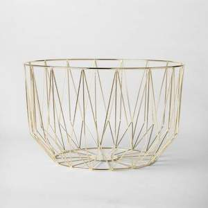Project 62 gold basket