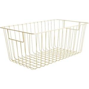 cb2 roscoe metal baskets