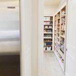 pantry through door