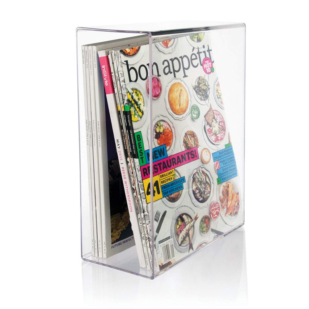 Stori plastic magazine holder