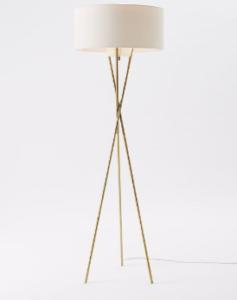 mid century tripod floor lamp west elm