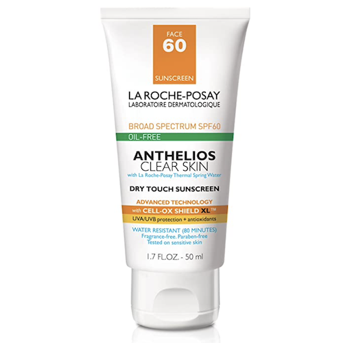 La Roche-Posay Anthelios Clear Skin Dry Touch Sunscreen Broad Spectrum SPF 60